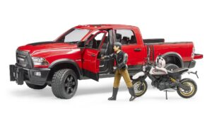 Bruder RAM 2500 Power Wagon med Ducati