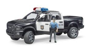 Bruder RAM 2500 politibil med politimand