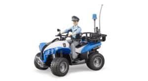 Bruder Politimand med ATV