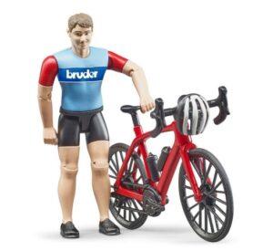 Bruder Trekkingcykel med rytter