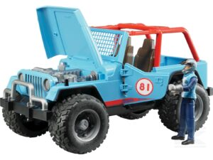 Bruder Jeep Cross inkl. chauffør