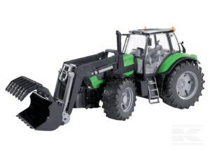 Bruder Deutz traktor med frontlæsser
