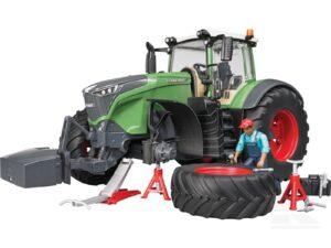 Bruder Fendt traktor 1050 inkl. værksted