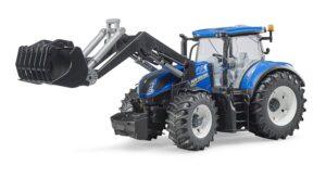 Bruder New Holland traktor med frontlæsser