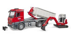 Bruder MB Acrocs lastbil med container