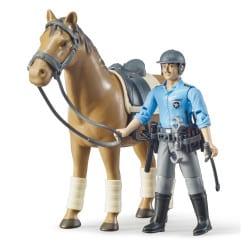 Bruder Politibetjent og hest