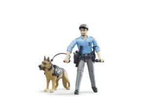 Bruder Politibetjent med hund