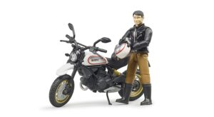 Bruder Motorcykel med mand