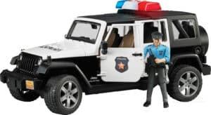 Bruder Jeep Wrangler politi
