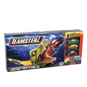 Teamster Dino Attack med 3 biler
