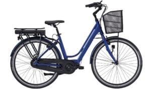 E-Fly Nova Max IV elcykel – Mat Blå
