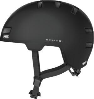 ABUS Skurb hjelm – Velvet Black