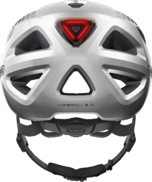 ABUS Urban-I 3.0 Signal hjelm – Sølv