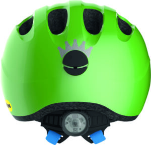 ABUS Smiley 2.1 Mips børnehjelm – Sparkling Green