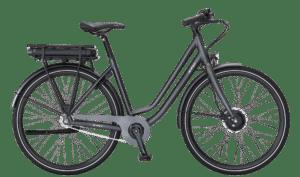 E-Fly Via N7 Forhjulsmotor elcykel – Mat Grå