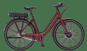 E-Fly Via N7 Forhjulsmotor elcykel – Mat Bourgogne