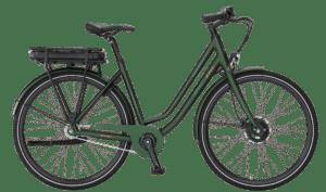 E-Fly Via N7 Forhjulsmotor elcykel – Mat Grøn