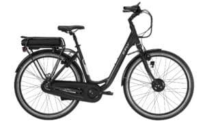 E-Fly Deluxe 43V Forhjulsmotor elcykel – Sort