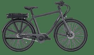 E-Fly Via Herre N7 Centermotor elcykel – Mat Grå