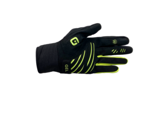 Alé Handske Wind Protection – Sort / Gul